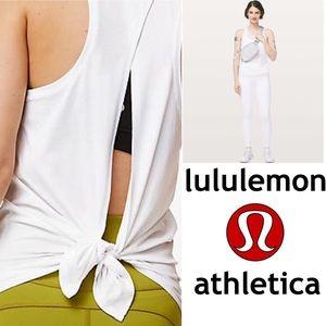 New!   Lululemon Goal Up Tie up tank